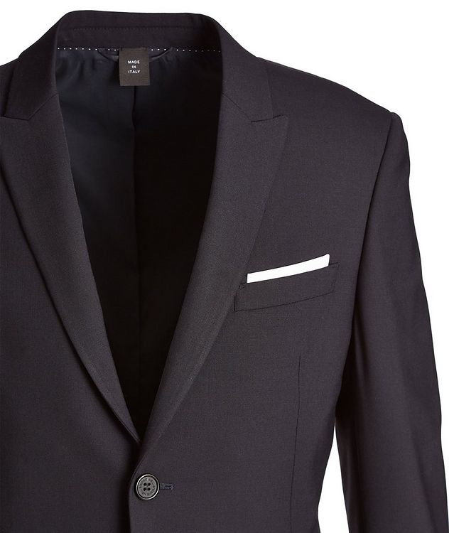 Gabardine Wool-Blend Suit picture 2