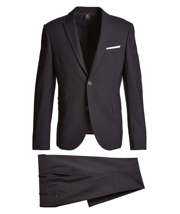 Gabardine Wool-Blend Suit picture 1
