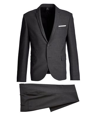 Neil Barrett Gabardine Stretch-Wool Suit