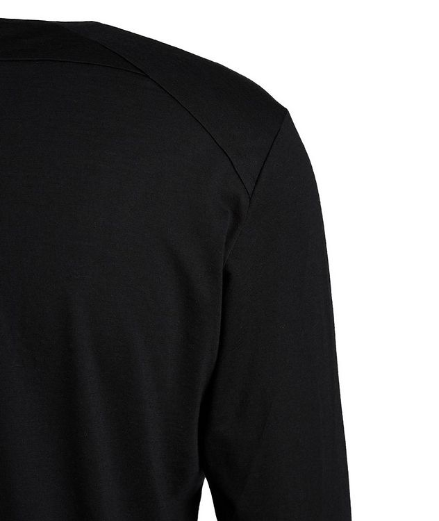 Long-Sleeve Stretch-Wool T-Shirt picture 3
