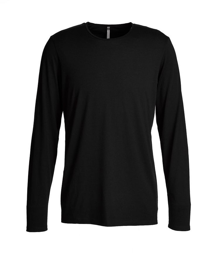 Long-Sleeve Stretch-Wool T-Shirt image 0