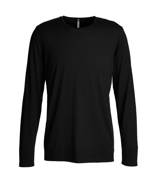 Long-Sleeve Stretch-Wool T-Shirt picture 1