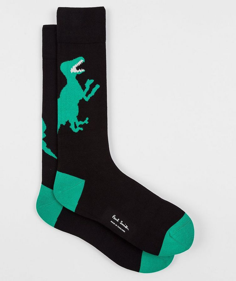 3-Pack Printed Stretch-Cotton Socks image 9