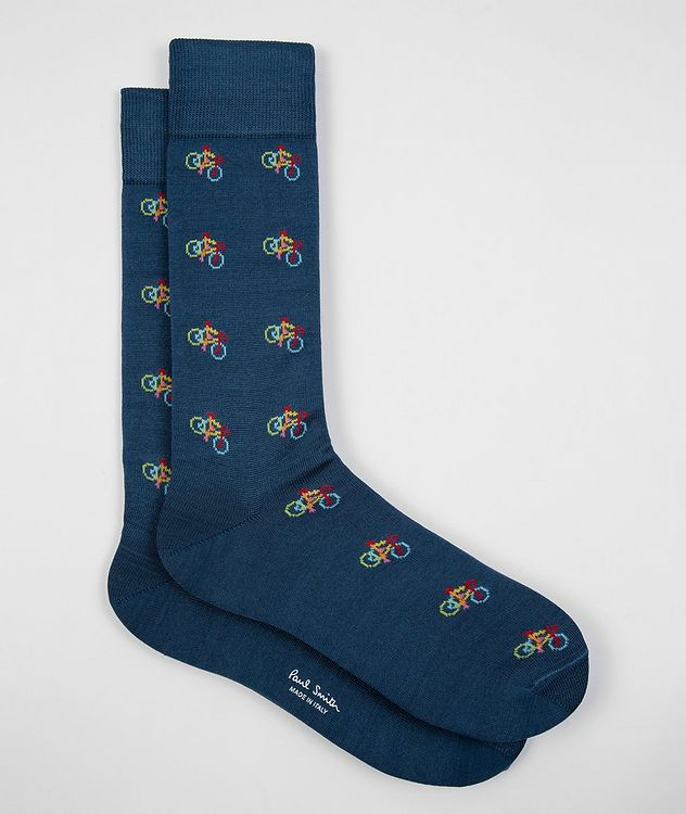 3-Pack Printed Cotton-Blend Socks picture 2
