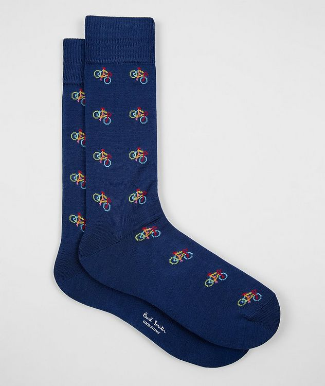 3-Pack Printed Cotton-Blend Socks picture 4