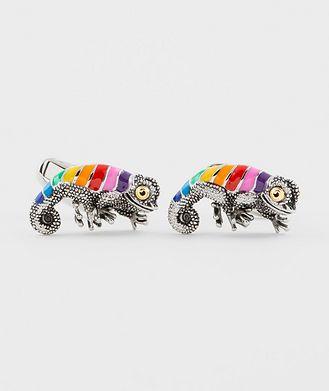 Paul Smith Rainbow Chameleon Cufflinks