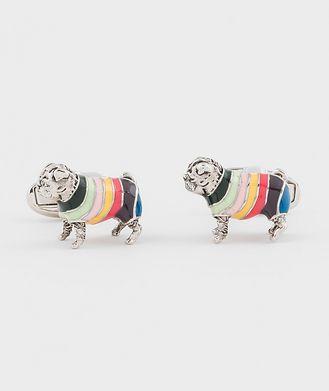 Paul Smith Rainbow Pug Cufflinks