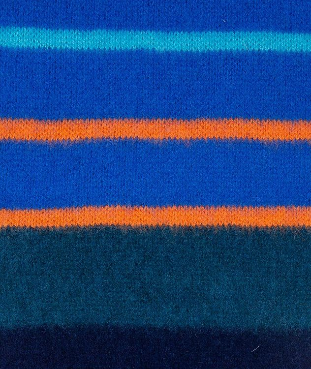 Striped Lamb's Wool Scarf picture 2