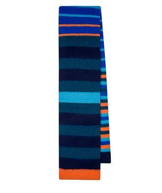 Paul Smith Striped Lamb's Wool Scarf