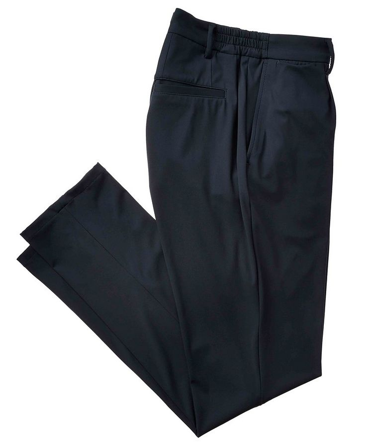 Stretch-Blend Track Pants image 0