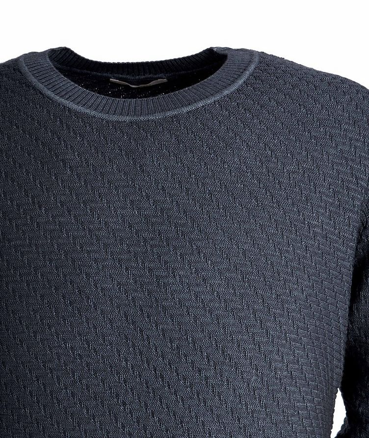 Faded-Knit Wool Sweater image 1