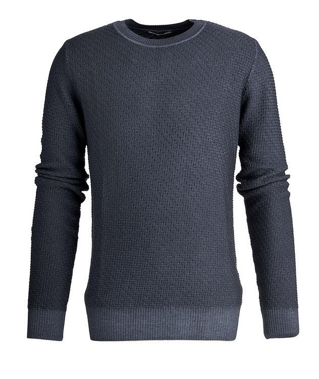Faded-Knit Wool Sweater picture 3