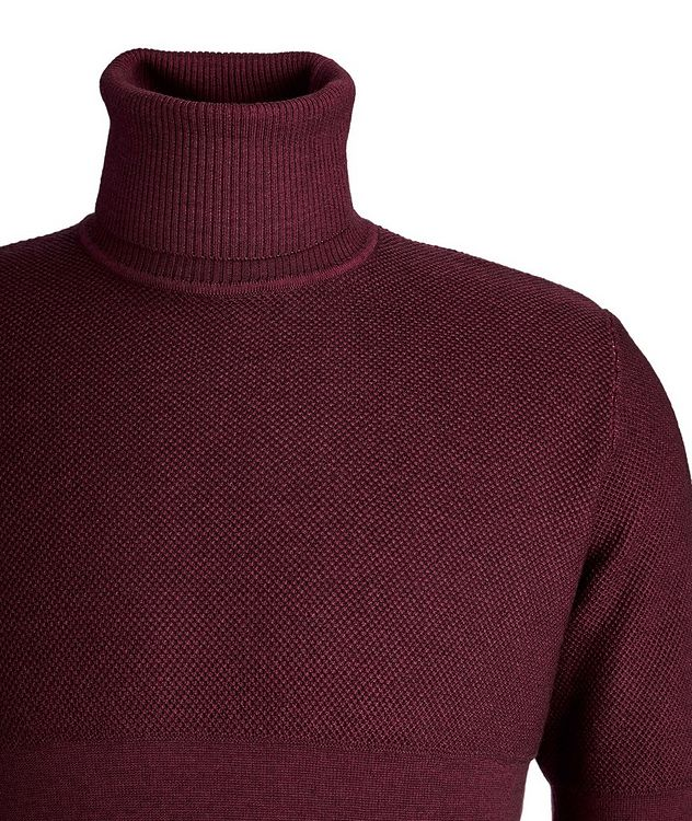Wool Knit Turtleneck picture 3