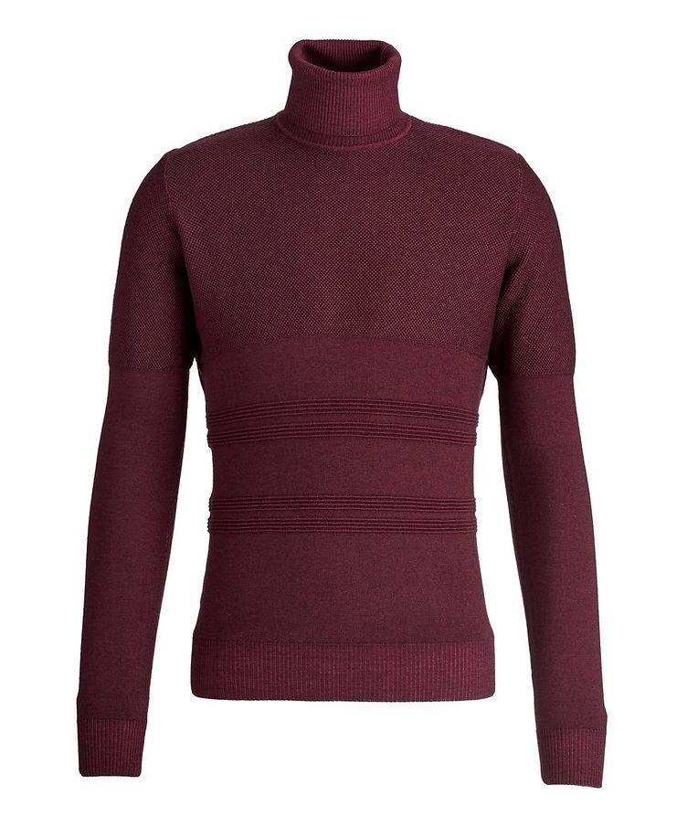Wool Knit Turtleneck image 0