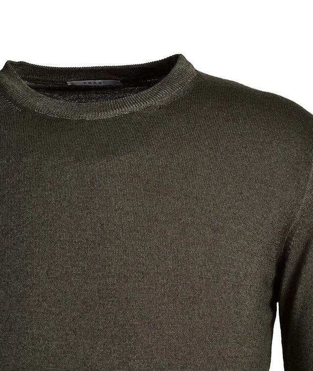 Faded-Knit Wool Sweater picture 2