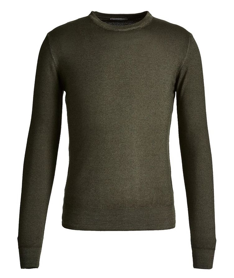 Faded-Knit Wool Sweater image 0