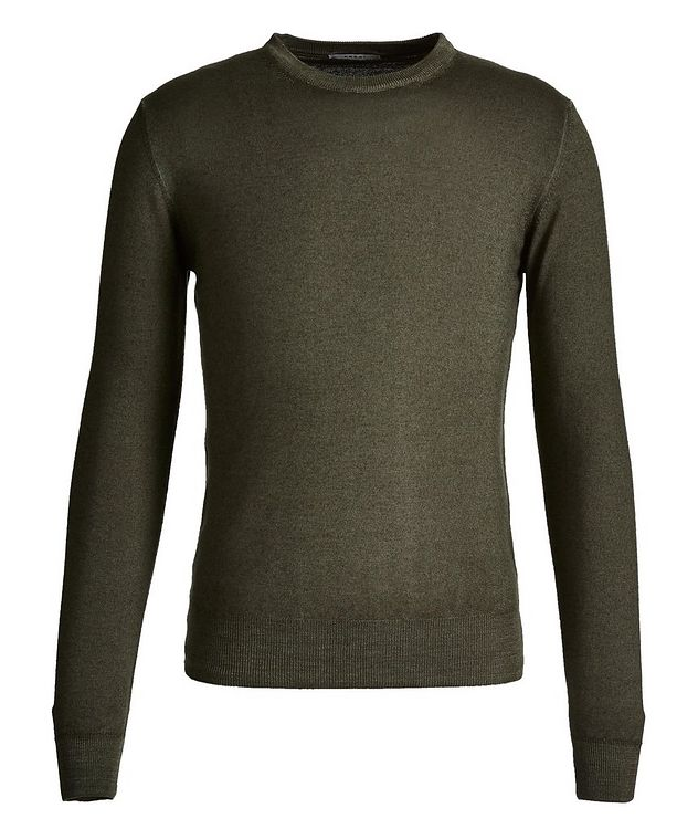 Faded-Knit Wool Sweater picture 1