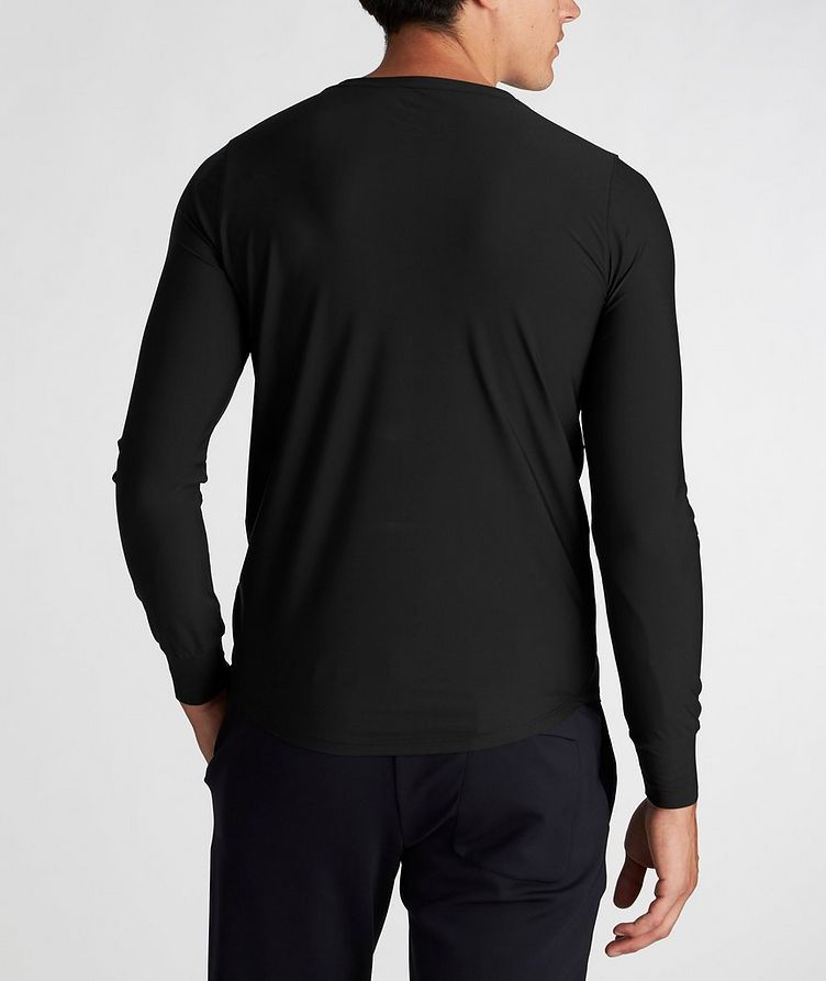 Long-Sleeve Techno Performance T-Shirt image 2