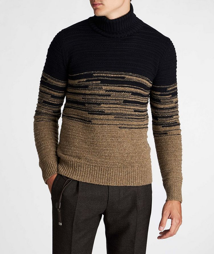 Wool-Blend Roll Neck Sweater image 1