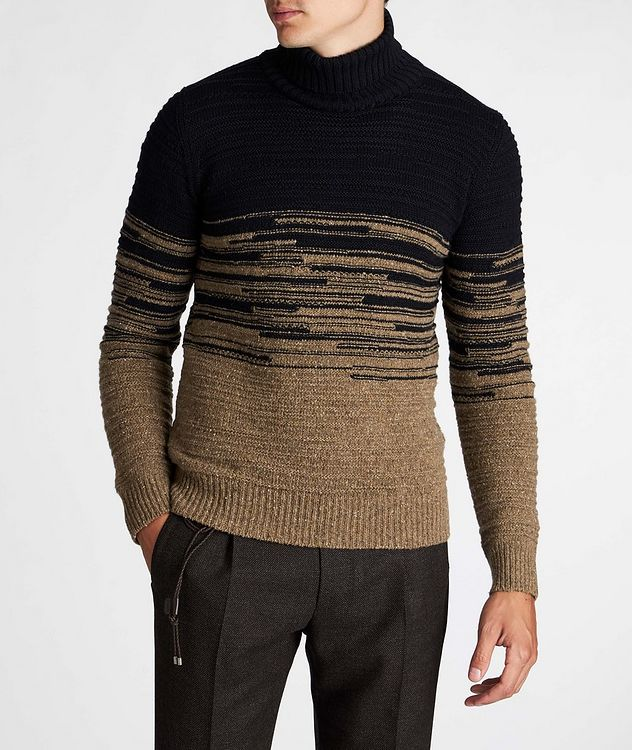 Wool-Blend Roll Neck Sweater picture 2