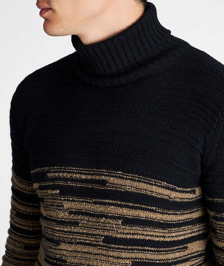 Wool-Blend Roll Neck Sweater image 3