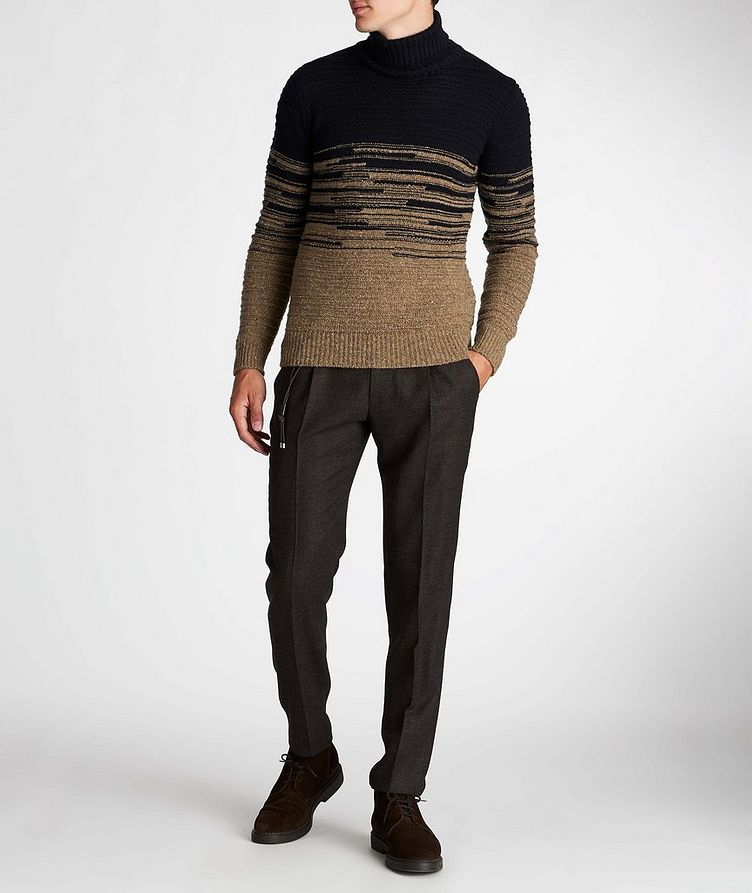 Wool-Blend Roll Neck Sweater image 4