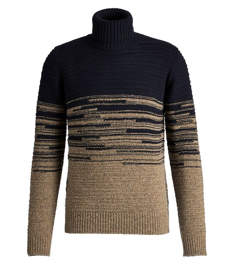 Wool-Blend Roll Neck Sweater image 0