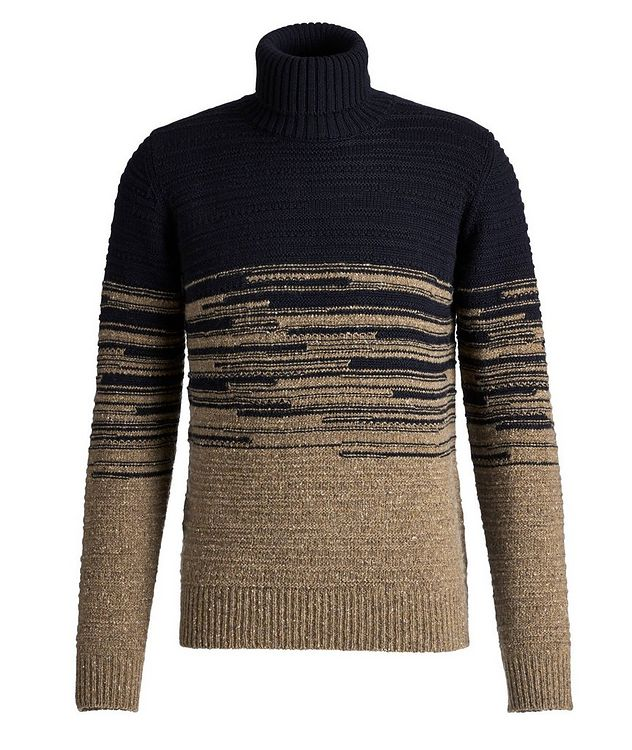 Wool-Blend Roll Neck Sweater picture 1