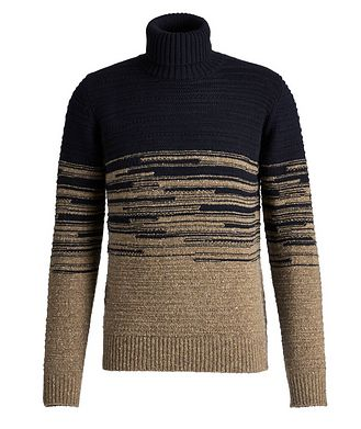 Fradi Wool-Blend Roll Neck Sweater