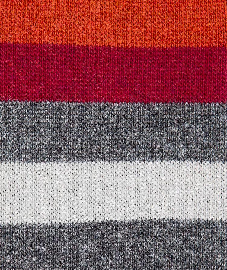 Printed Stretch-Cotton Socks image 2