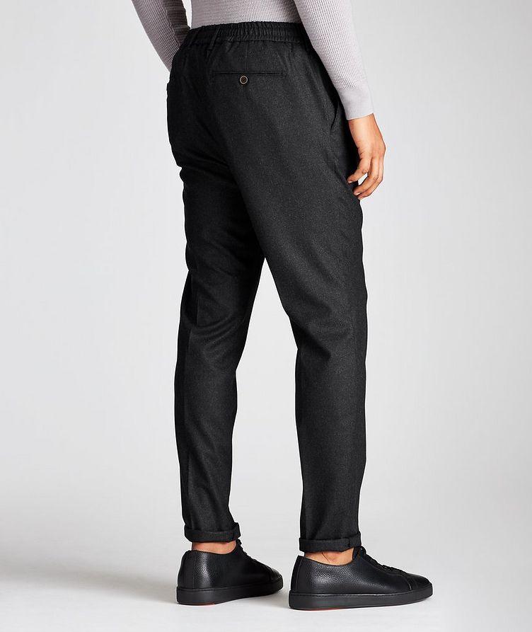 Drawstring Wool Pants image 1