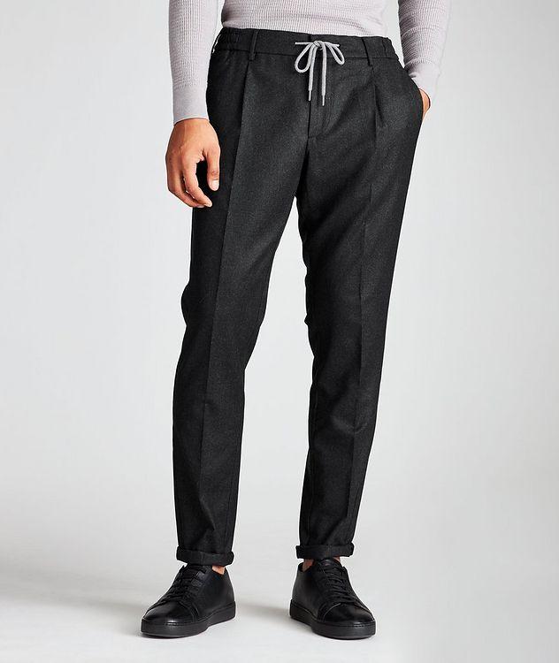 Drawstring Wool Pants picture 1
