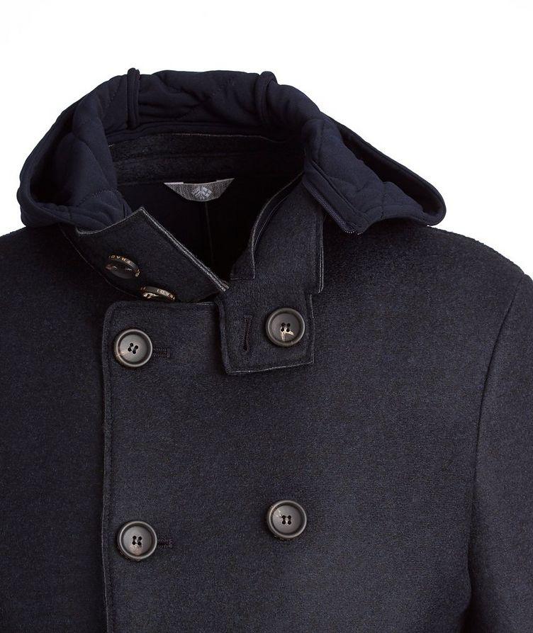 Warner Wool-Neoprene Peacoat image 1