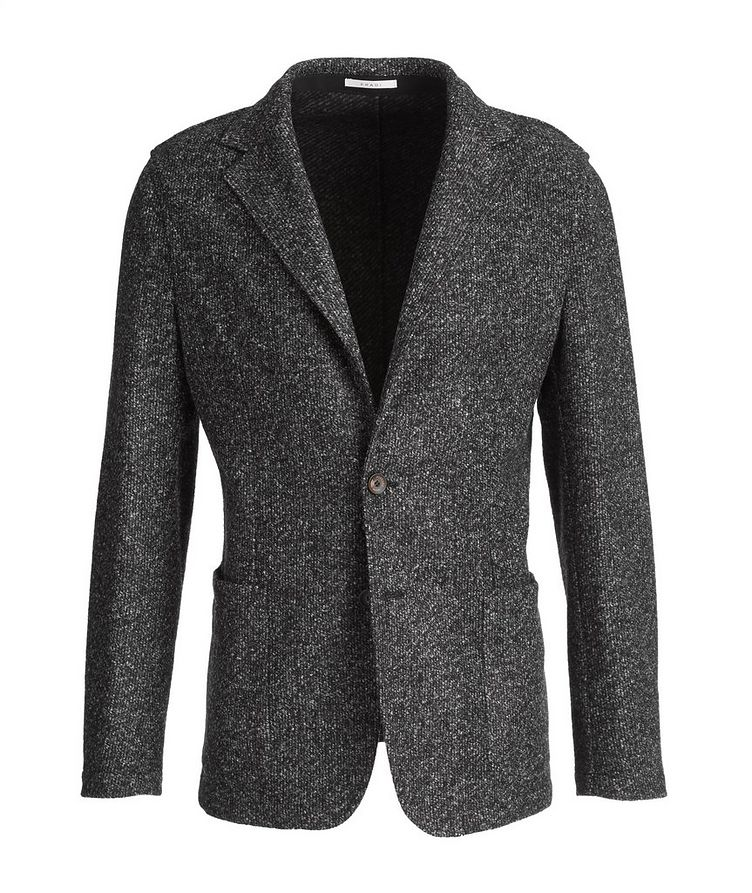 Postage Pocket Checked Wool-Blend Sports Jacket image 0