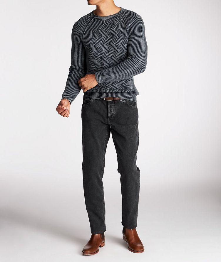 Pull en tricot torsadé de laine image 4