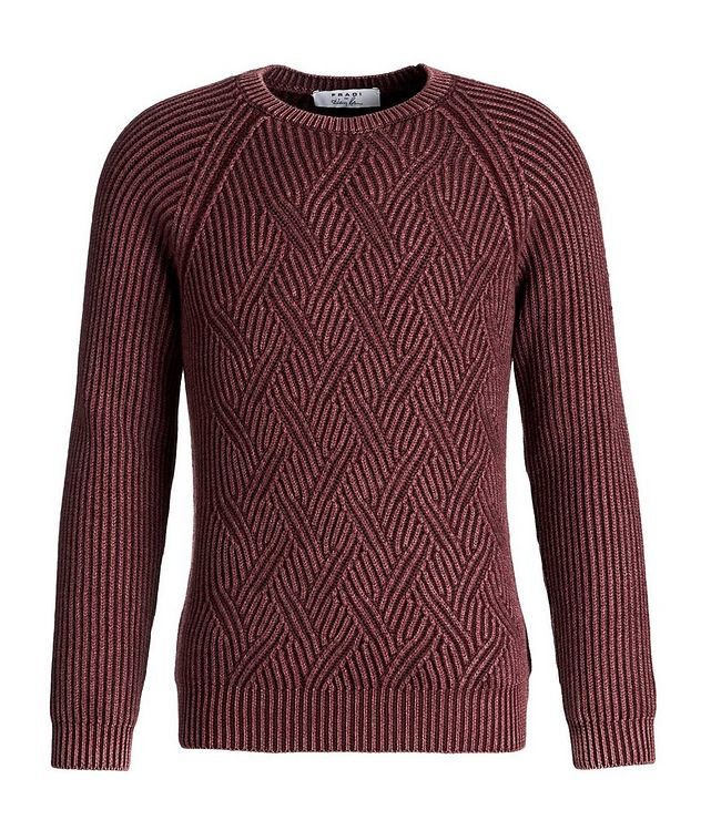 Cable-Knit Wool Sweater picture 1