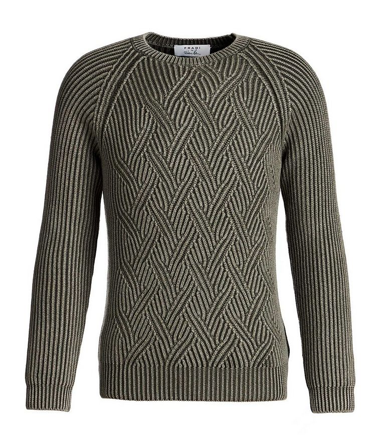 Cable-Knit Wool Sweater image 0