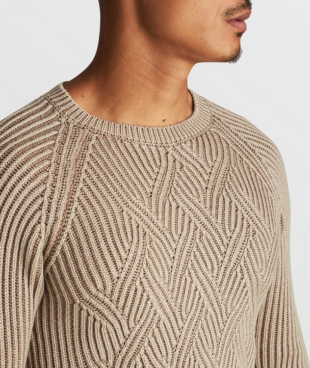 Cable-Knit Wool Sweater picture 4
