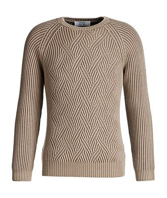 Fradi Cable-Knit Wool Sweater
