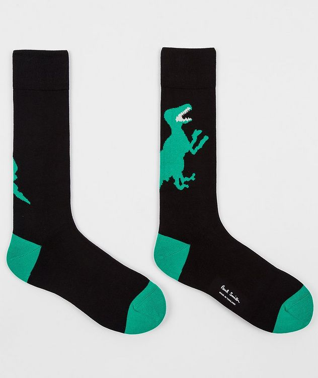 Printed Stretch-Cotton Socks picture 3