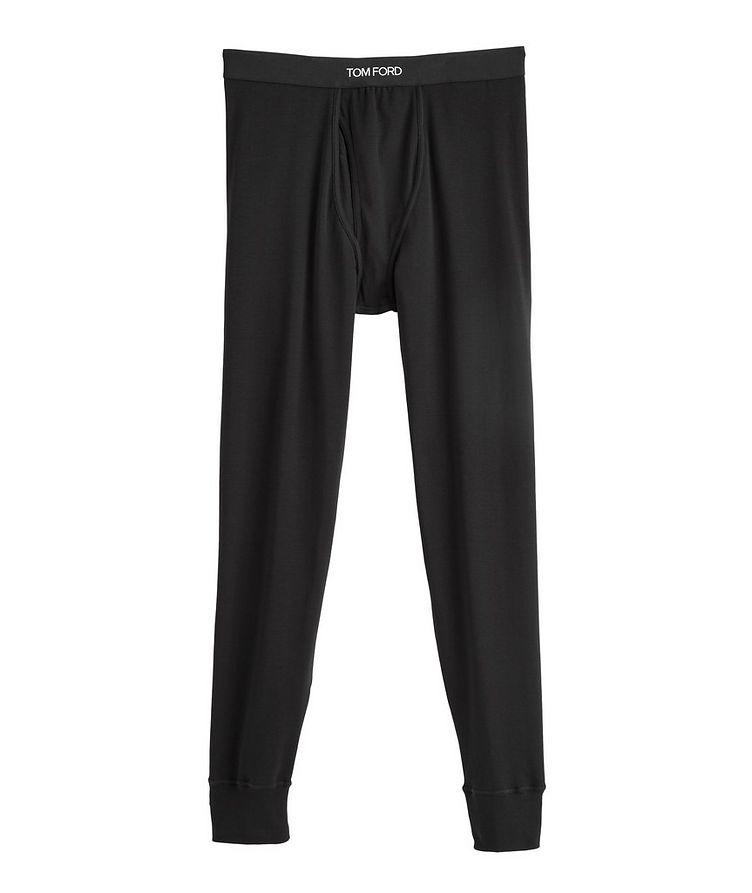 Stretch-Cotton Jersey Long Underwear image 0