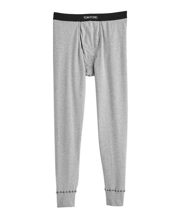 Stretch-Cotton Jersey Long Underwear picture 1