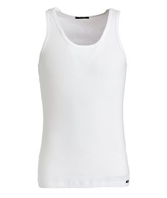 Tom Ford Ribbed Cotton-Blend Tank Top