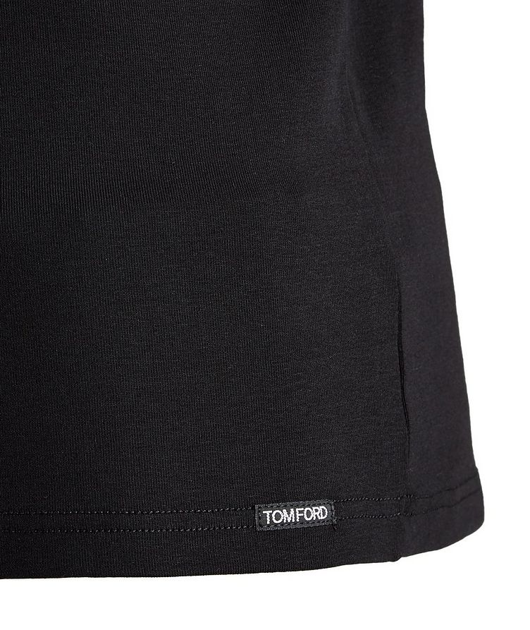 T-shirt en coton extensible image 1