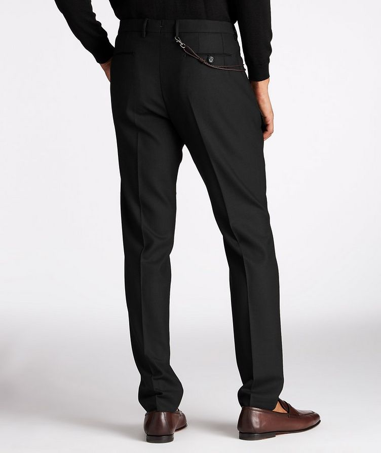 Slim Fit Stretch-Wool Dress Pants image 2