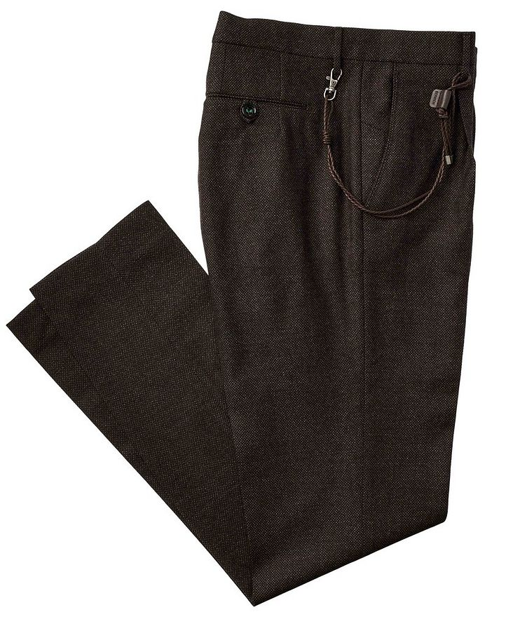 Virgin Wool Dress Pants image 0