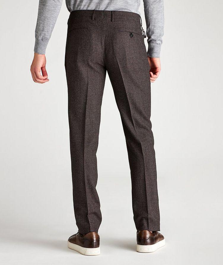 Slim Fit Birdseye Dress Pants image 1