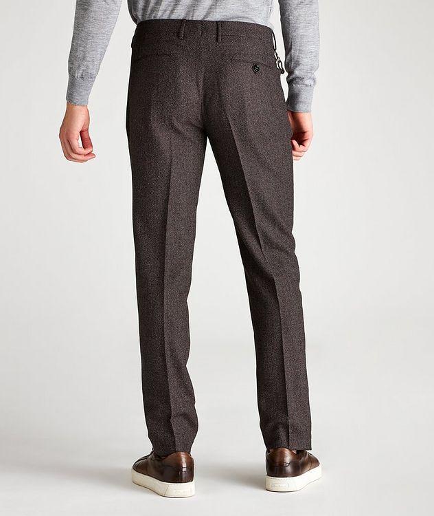 Slim Fit Birdseye Dress Pants picture 2