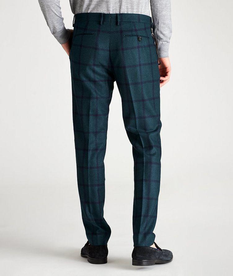 Morello Slim-Fit Windowpane Wool Pants image 1