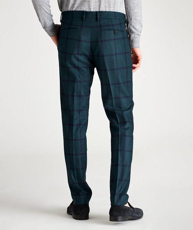 Morello Slim-Fit Windowpane Wool Pants picture 2